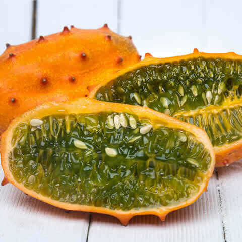 Kiwano, African horned cucumber