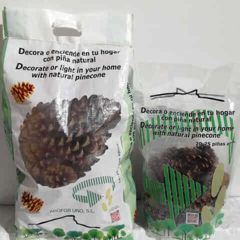 NATURAL PINE TREE CONES